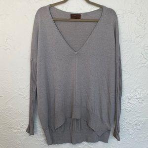 Kerisma Gray V-Neck Sweater